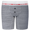 Rise Button Fly Boxer+ Harness - Marble