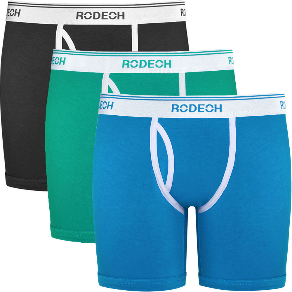 "3-Pack Shift Retro 6"" Boxer Underwear"