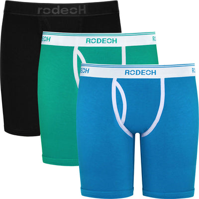 "3-Pack Shift Retro 9"" Boxer Packer Underwear"