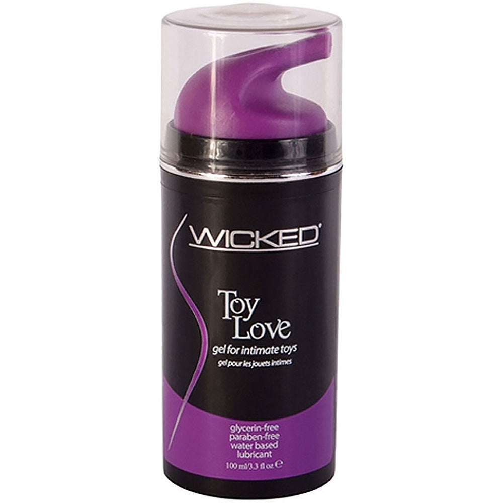 Toy Love Water-Based Gel for Intimate Toys 3.3 fl.oz. by Wicked Sensual Care