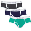 3-Pack Retro Shift Brief Underwear