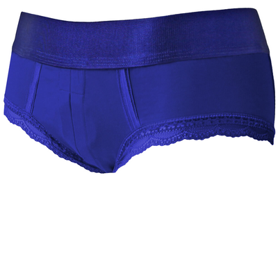 Royal Blue Duo Panty Harness