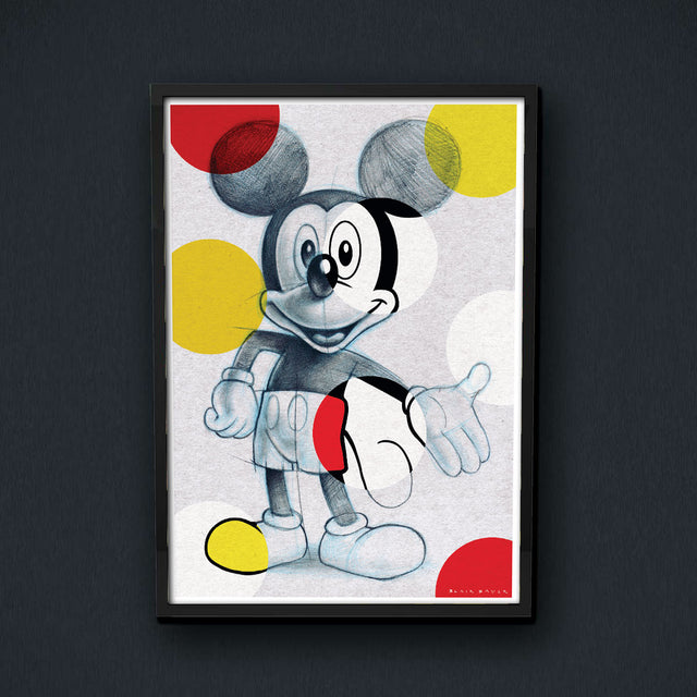 Blair Sayer Mickey Print