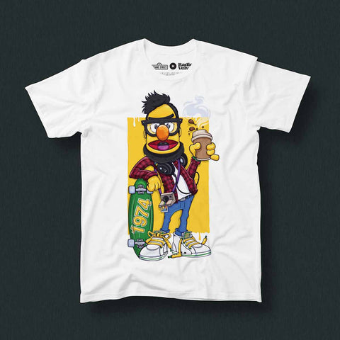 SKTCH – Hipster Bart T-Shirt
