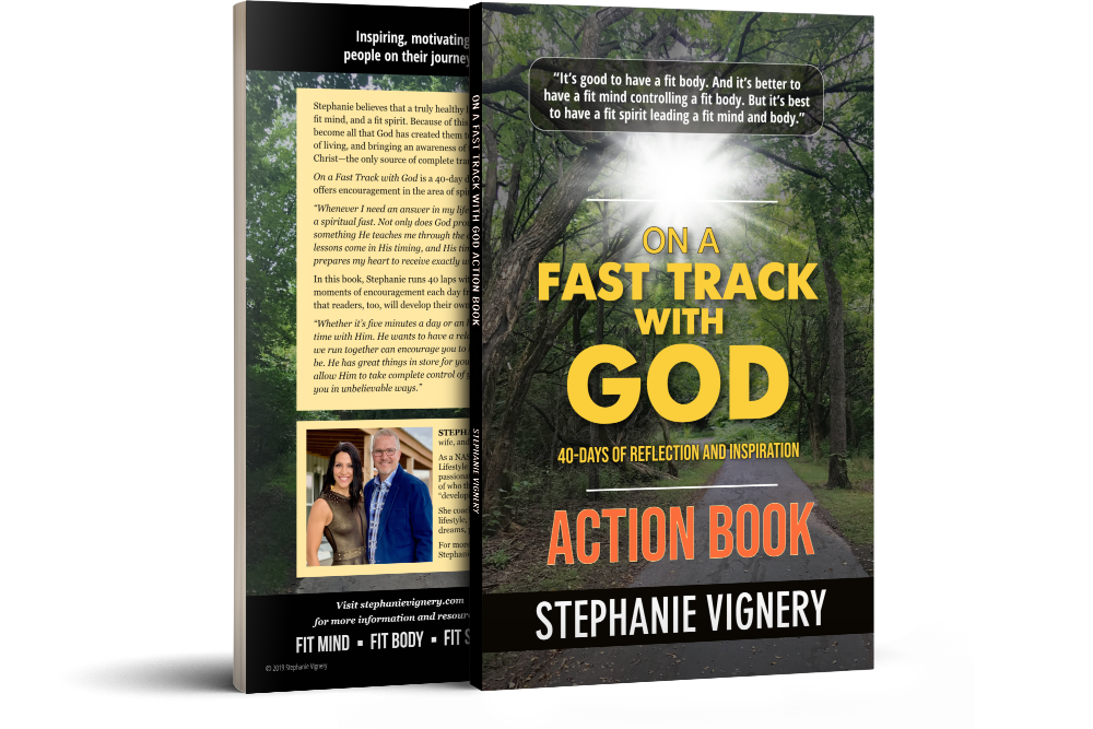 ACTION BOOK: On a Fast Track With God