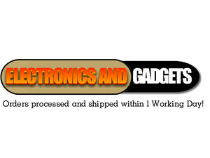 Electronics And Gadgets Store Orders processed and shipped within 1 Working Day