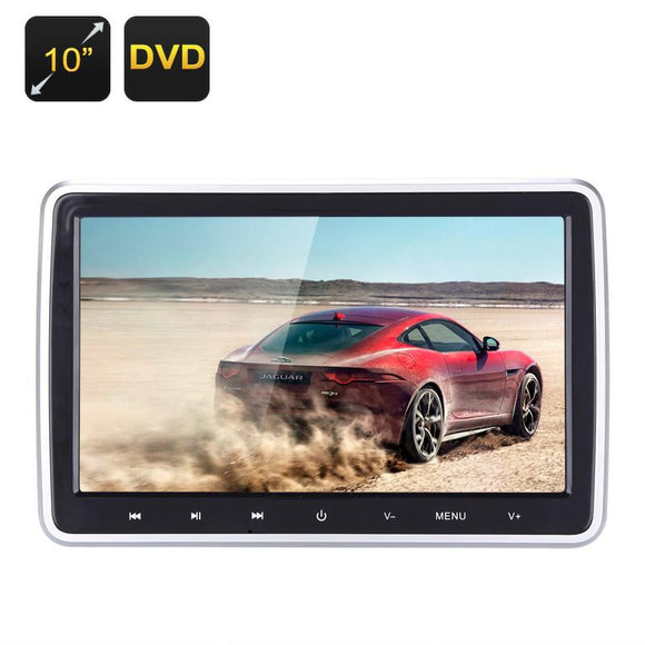 10 Inch Car Headrest DVD Player - Mr Jack Of All Trades