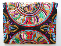 A-005 HANDCRAFTED PURSE/IPAD COVER/ CLUTCH BAG HMONG EMBROIDERED