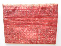 A-006 HANDCRAFTED PURSE/IPAD COVER/ CLUTCH BAG TRIBAL BATIK FABRIC