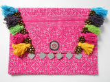 A-007 HANDCRAFTED PURSE/IPAD COVER/ CLUTCH BAG TRIBAL BATIK FABRIC