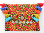 A-012 HANDCRAFTED PURSE/IPAD COVER/ CLUTCH BAG HMONG EMBROIDERED