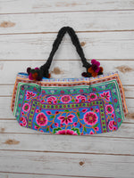 BA-003 POM POM WORM TOTE SHOULDER BAG (S)