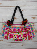 BA-004 POM POM WORM TOTE SHOULDER BAG (S)