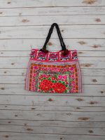 BC-001 ROSE GARDEN HILL TRIBE TOTE SHOULDER BAG (LARGE)