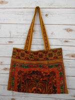 BL-003 YELLOW HILL TRIBE TOTE SHOULDER BAG (LARGE)