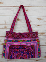 BL-004 PINK HILL TRIBE TOTE SHOULDER BAG (LARGE)