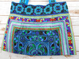 BL-007 BLUE HILL TRIBE TOTE SHOULDER BAG (LARGE)