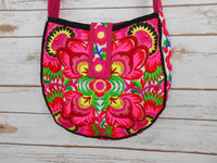 CB-005 FLOWERS HILL TRIBE CROSSBODY BAG