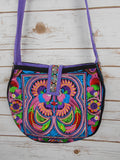 CB-006 BIRD HILL TRIBE CROSSBODY BAG - MULTI COLOR