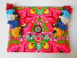A-001 HANDCRAFTED PURSE/IPAD COVER/ CLUTCH BAG HMONG EMBROIDERED