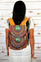 PC-005 HANDMADE BACKPACK WITH HMONG EMBROIDERED