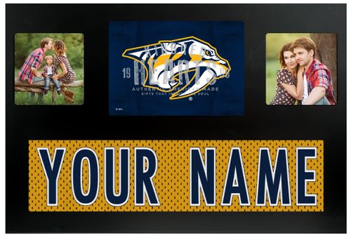 Custom Nhl Picture Frames And Signs From Ludus Tagged Nashville