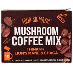 Four Sigmatic Mushroom Coffee Mix - Lions Mane & Chaga