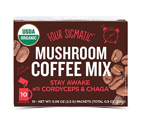 Four Sigmatic Mushroom Coffee Mix - Cordyceps & Chaga
