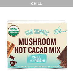 Four Sigmatic Hot Cacao Mix - Chill Out Vibes Reishi