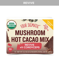 Four Sigmatic Hot Cacao Mix - Pick Me Up Cordyceps