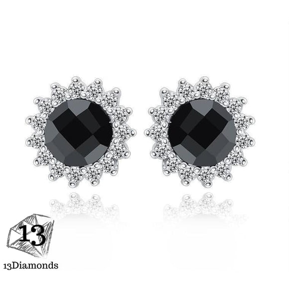 Black Crystal Earring Earrings