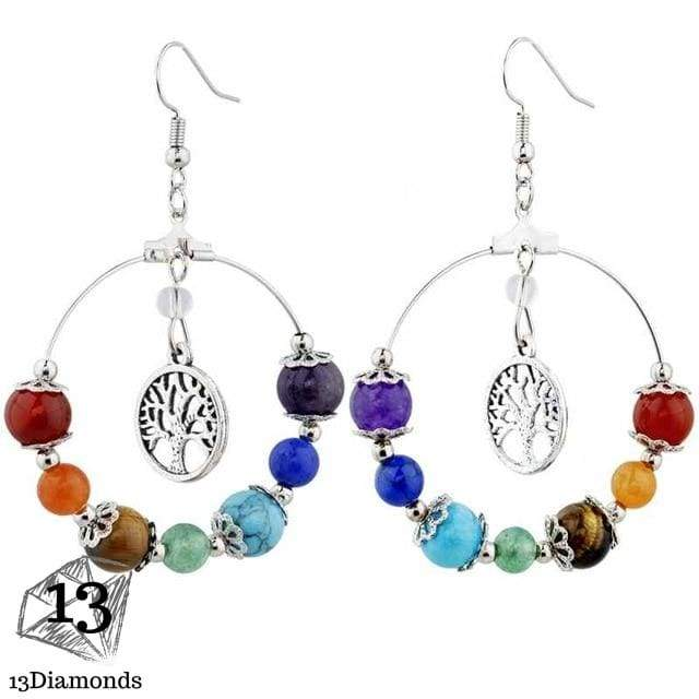 Chakra Earrings Style 8 Earrings