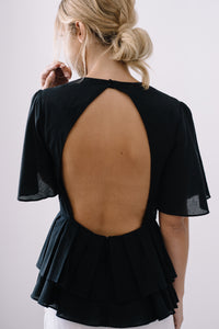 Hagia Top model detail back