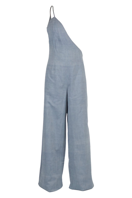 Lapis Jumpsuit - Denim/Black