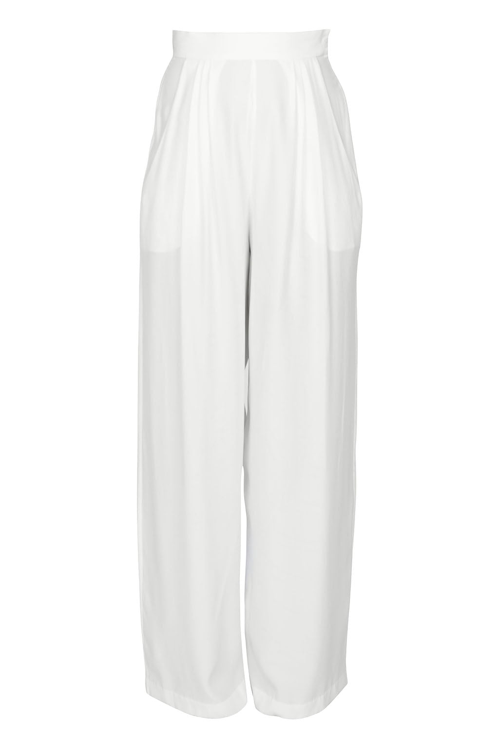 Light Trouser ghost mannequin front