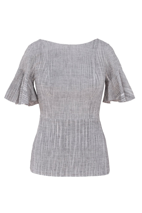 Pari Top Full Length - Grey/Black/White