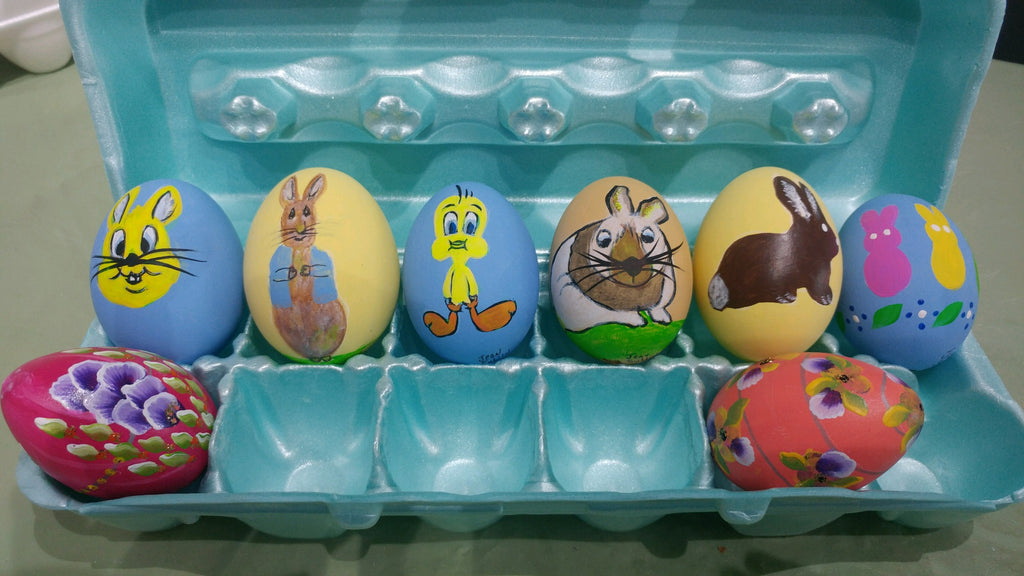 Easter Goose Egg Painting