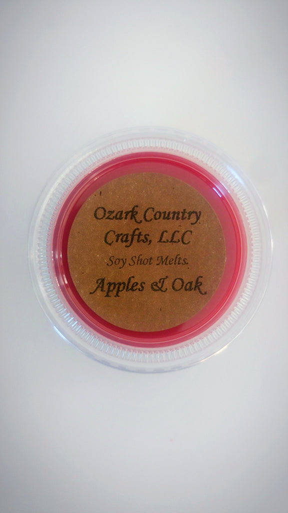 Apples & Oak Soy Shot Melting Tart
