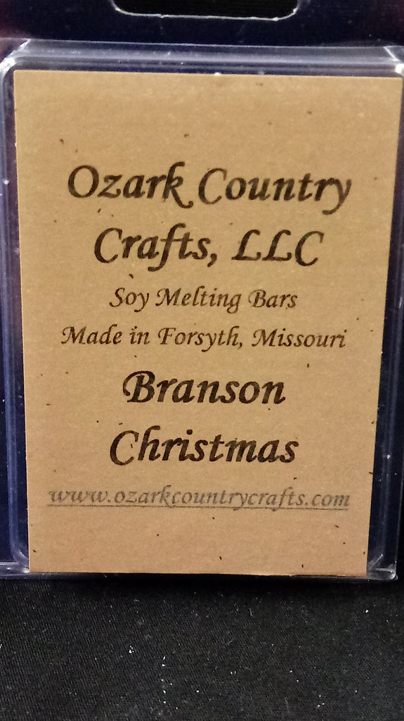 Branson Christmas Melting Tart Bar
