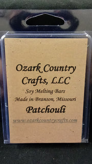 Patchouli Melting Tart Bar