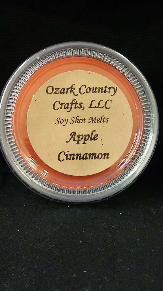 Apple Cinnamon Soy Shot Melting Tart
