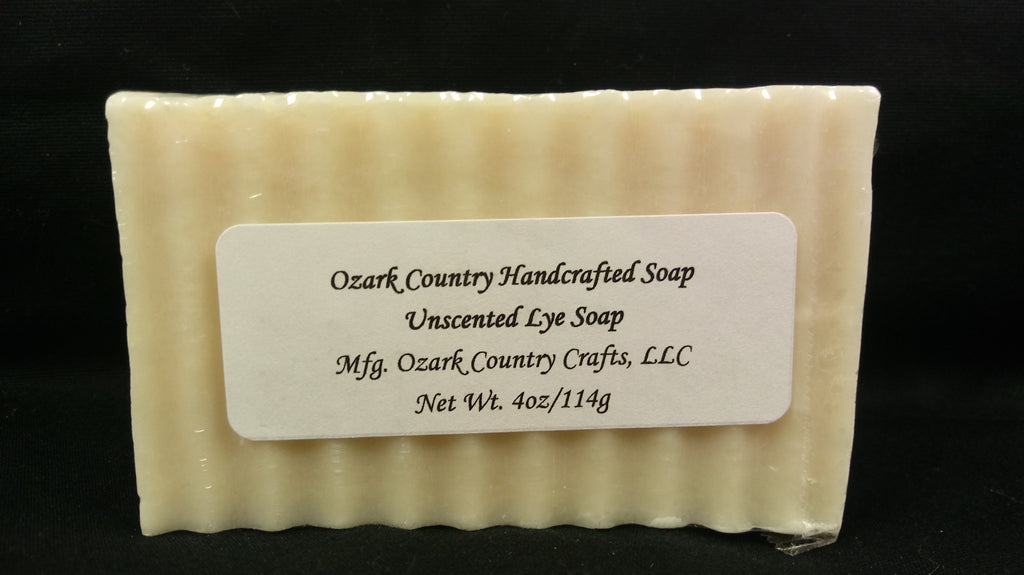 Ozark Country Handcrafted Moisturizing Soap - Unscented