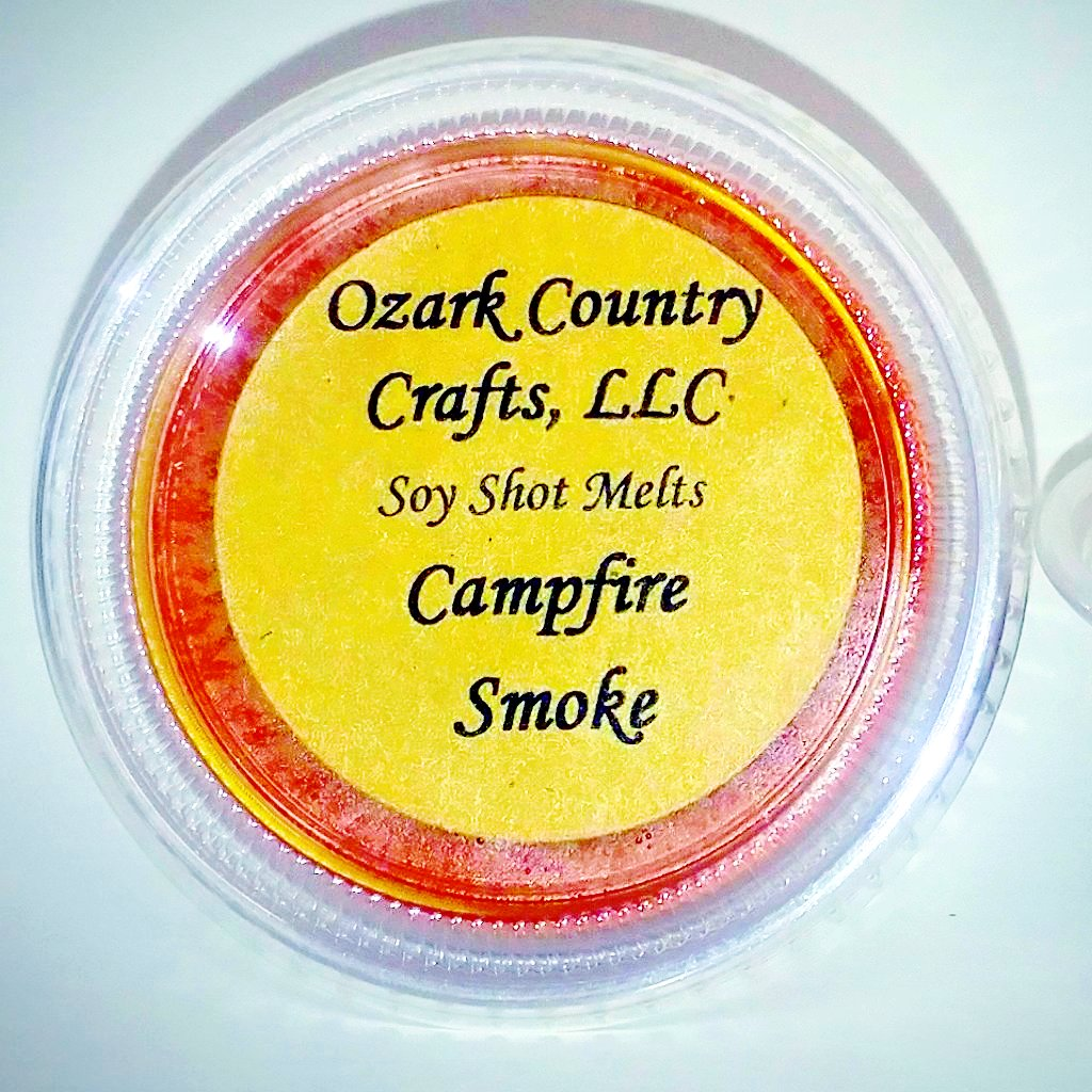 Campfire Smoke Soy Shot Melting Tart