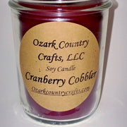 Cranberry Cobbler Soy Candle - Jelly Jar