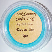 Day at the Spa Soy Shot Melting Tart