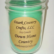 Down Home Country Soy Candle - Jelly Jar