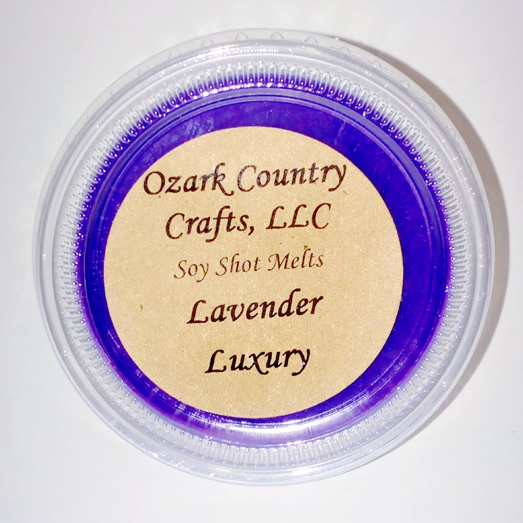 Lavender Luxury Soy Shot Melting Tart