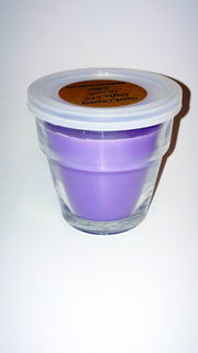 Lilac Soy Candle - Flowerpot Candle