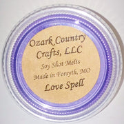 Love Spell Soy Shot Melting Tart