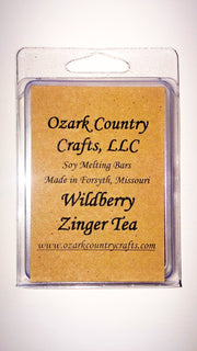 Wildberry Zinger Tea 6-Piece Melting Tart